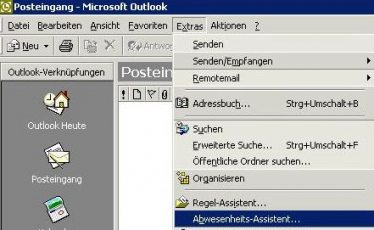 Outlook Abwesenheitsassistent