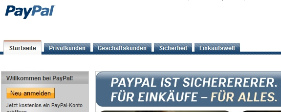 Paypal Funktioniert Nicht Mehr
