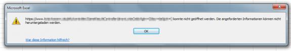 Excel Daten aus dem Web