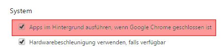 Einstellungen - Google Chrome